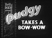 Pudgy Takes A Bow-Wow Cartoon Pictures