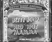 Red Hot Mamma Cartoon Picture