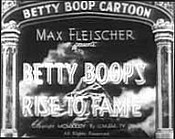 Betty Boop's Rise To Fame Cartoon Picture