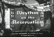 Rhythm On The Reservation Cartoons Picture