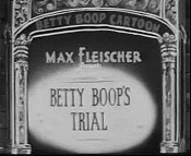 Betty Boop's Trial Picture Of Cartoon