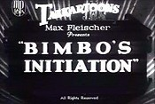 Bimbo's Initiation Cartoon Funny Pictures