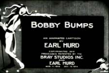 Bobby Bumps Theatrical Cartoon Series Logo
