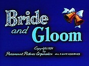 Bride And Gloom Cartoon Picture