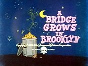 A Bridge Grows In Brooklyn Picture Of Cartoon