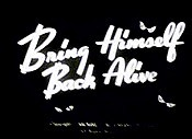 Bring Himself Back Alive Cartoon Picture