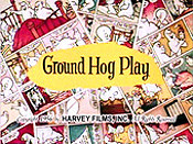 Ground Hog Play Cartoon Picture