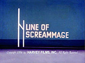 Line Of Screammage Cartoon Picture