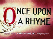 Once Upon A Rhyme Cartoon Picture