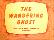The Wandering Ghost Cartoon Funny Pictures