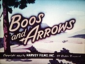Boos And Arrows Cartoon Picture
