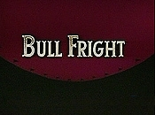 Bull Fright Cartoon Picture