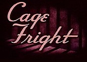 Cage Fright Cartoon Picture