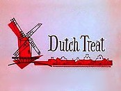 Dutch Treat Cartoon Picture