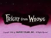 Fright From Wrong The Cartoon Pictures