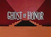 Ghost Of Honor Cartoon Picture