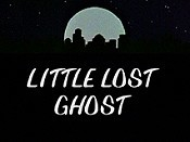 Little Lost Ghost Cartoon Picture