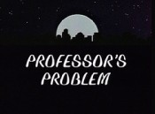 Professor's Problem Cartoon Picture
