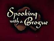 Spooking With A Brogue Cartoon Picture