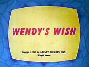 Wendy's Wish Cartoon Picture