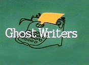 Ghost Writers Cartoon Picture