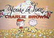 You're In Love, Charlie Brown Cartoon Character Picture