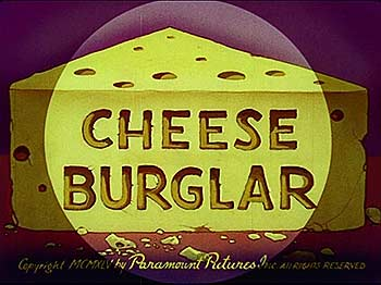 Cheese Burglar Cartoon Character Picture