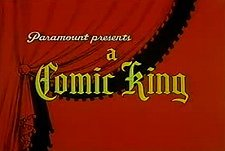 Comic Kings Theatrical Cartoon Series Logo