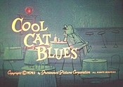 Cool Cat Blues Free Cartoon Picture