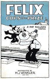 Felix Cops The Prize Cartoon Picture