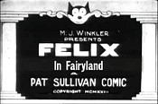 Felix In Fairyland Picture Into Cartoon