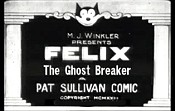 Felix The Ghost Breaker Cartoon Picture