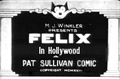 Felix In Hollywood Pictures In Cartoon