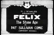 Felix The Stone Age Cartoon Character Picture