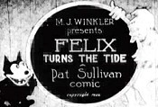 Felix Turns The Tide Cartoon Picture