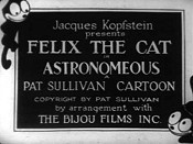 Felix The Cat In Astronomeous Picture Into Cartoon