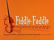 Fiddle-Faddle Cartoon Picture