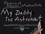 My Daddy The Astronaut Cartoon Picture
