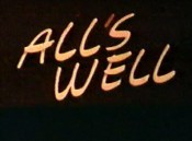 All's Well Free Cartoon Picture