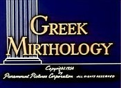 Greek Mirthology Picture Of Cartoon