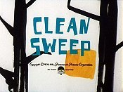Clean Sweep Cartoon Picture