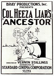 Colonel Heeza Liar's African Hunt Pictures In Cartoon