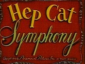 Hep Cat Symphony Cartoon Picture