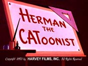 Herman The Catoonist Cartoon Picture