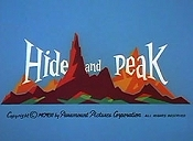 Hide And Peak Cartoon Picture