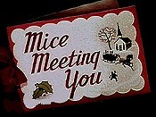 Mice Meeting You Cartoon Picture