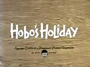 Hobo's Holiday Cartoon Picture