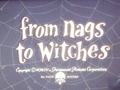 From Nags To Witches The Cartoon Pictures