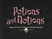 Potions And Notions Cartoon Picture