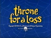 Throne For A Loss Cartoon Picture